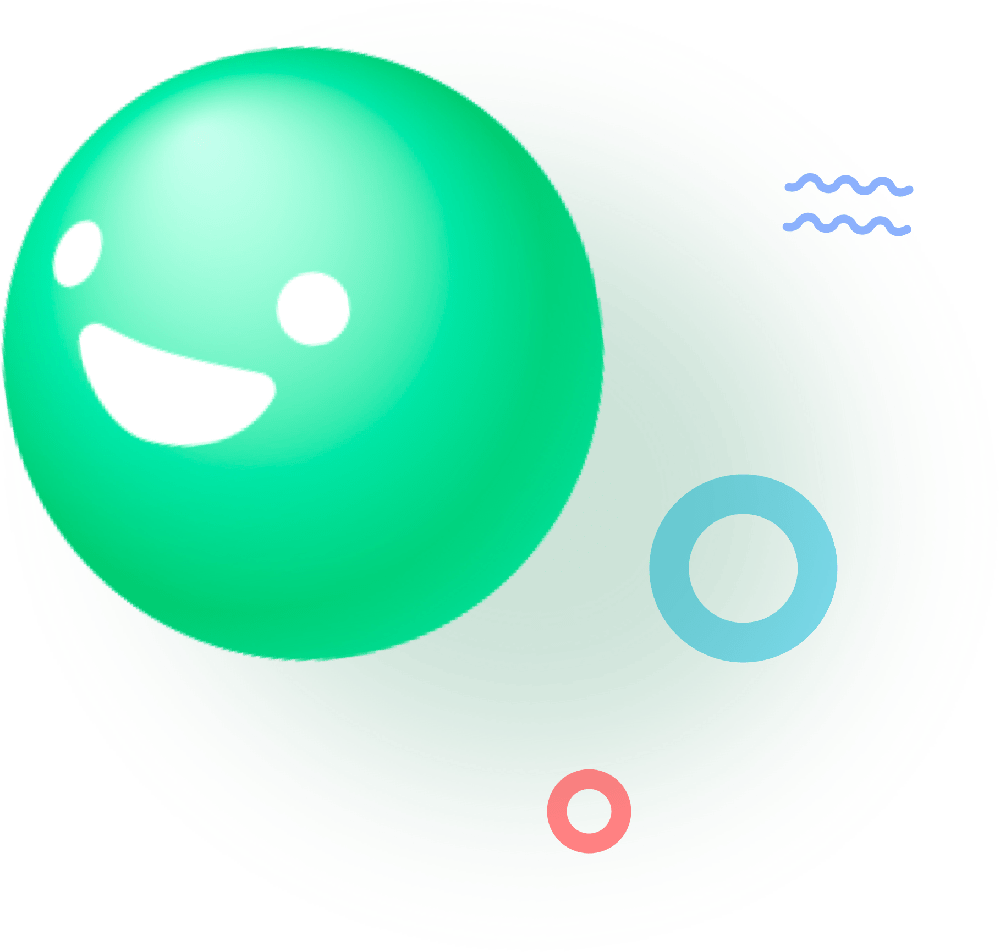 Green smiley Kwit