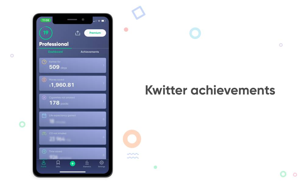 kwitter achievements