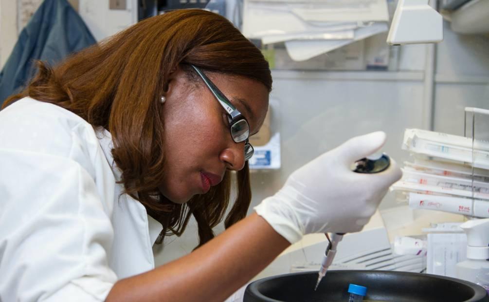 Researcher in a laboratory