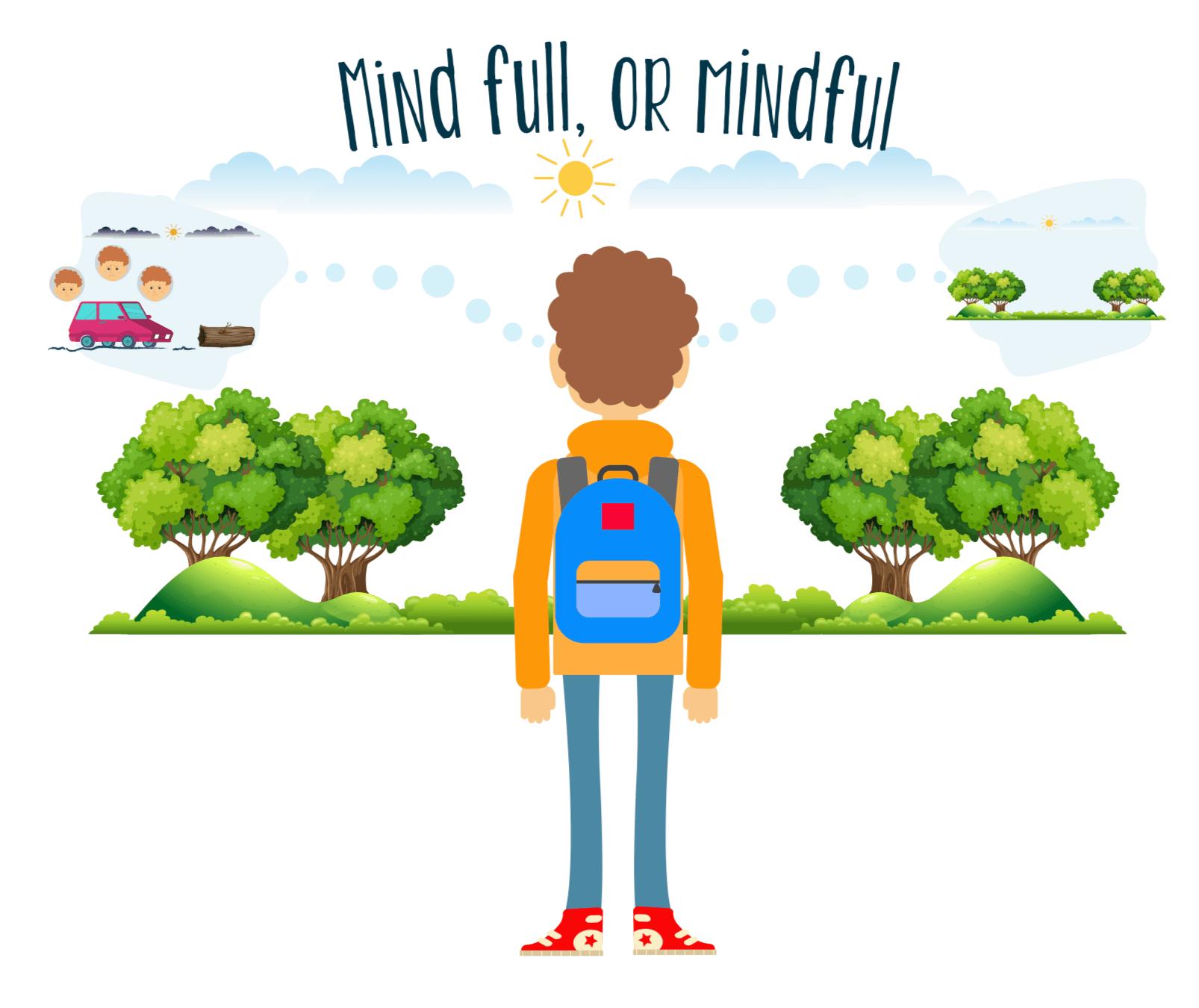Illustration de mindful