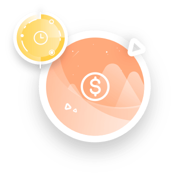 Time and money icons